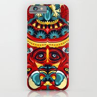 iPhone & iPod Case featuring Elephant Flowers by kzeng Jiang