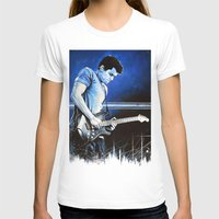 John Mayer Blues Womens Fitted Tee White SMALL