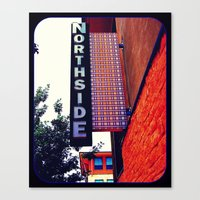Northside Canvas Print