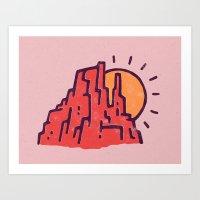 Utah Art Print