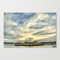 When the Sky Speaks Canvas Print