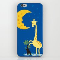 The Delicious Moon Chees… iPhone & iPod Skin
