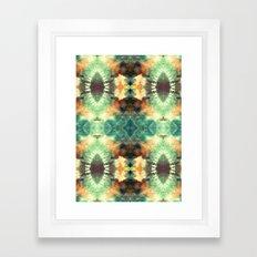 Kaleidoscopic Pattern Play Framed Art Print