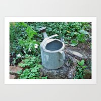 Watering Can Art Print