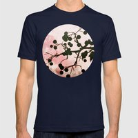Windows Of Winter Mens Fitted Tee Navy SMALL