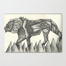 lion.  Canvas Print