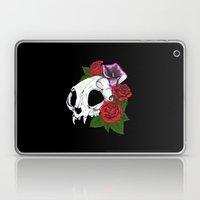 Kitty Skull Laptop & iPad Skin
