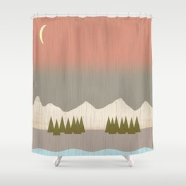 Shower Curtain - The Storm - Tammy Kushnir