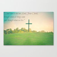 1 Corinthians. Canvas Print