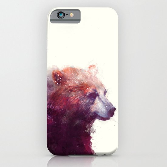 Bear // Calm iPhone & iPod Case