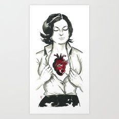 If I had a heart. Art Print