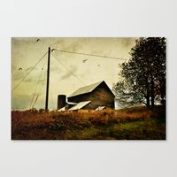 Evening of the First Day Canvas Print