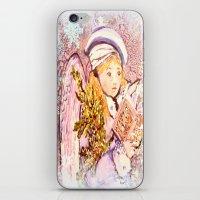 The Caroling Angel iPhone & iPod Skin