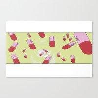 Pills  Canvas Print