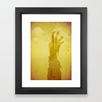 Abandoned Highway Framed Art Print