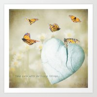 Delicate Things Art Print
