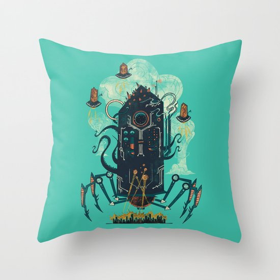 Not with a whimper but with a bang Throw Pillow