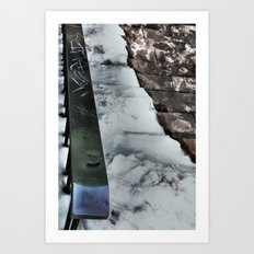 Graffiti Slide Art Print