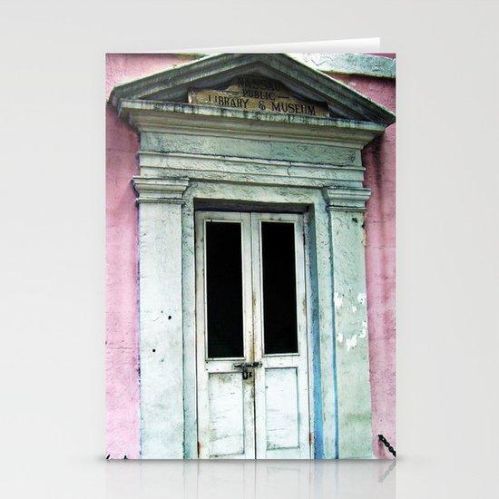 Bahama Door Stationery Card