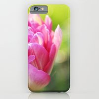 iPhone & iPod Case featuring Pink Peony Tulip by Shannon Marie