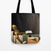 The Death of Robat Tote Bag