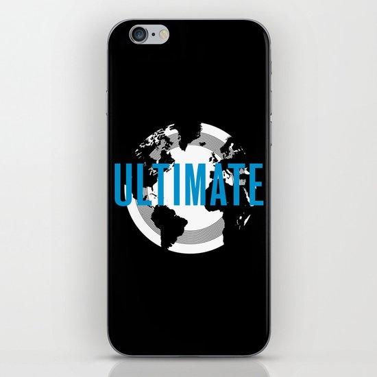 Globe Ultimate iPhone & iPod Skin