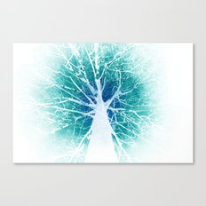 The tree of life (inverse) Canvas Print