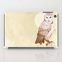 Barn Owl recolour iPad Case
