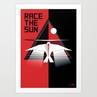 Race the Sun OST Art Print