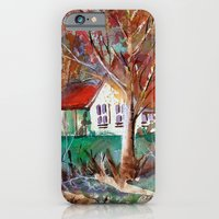 iPhone & iPod Case featuring Country Cottage by ArtistsWorks