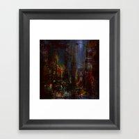 The Night Has A Thousan… Framed Art Print