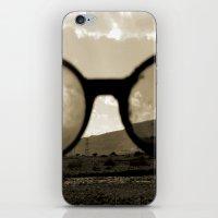 Glasses On The Horizon iPhone & iPod Skin