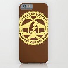 Giraffes United Against Ceiling Fans Slim Case iPhone 6s