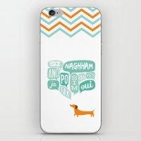 Agreeable Dachshund iPhone & iPod Skin