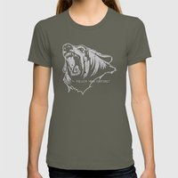 The Bear Womens Fitted Tee Lieutenant SMALL