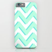 iPhone & iPod Case featuring 3D CHEVRON by natalie sales