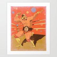 The Hulkster! Art Print