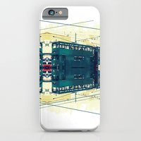 Tramway collage cityscape in Hong Kong iPhone 6 Slim Case