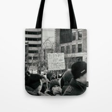 Freedom is a fight Tote Bag