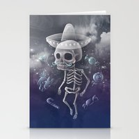 Candy Bones Stationery Cards