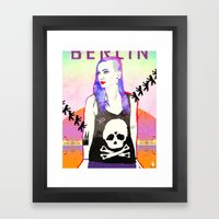 Welcome To BERLIN ||| Wi… Framed Art Print
