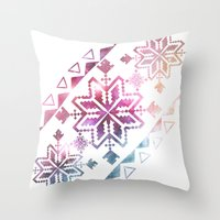 Neo-Ro Pattern Throw Pillow