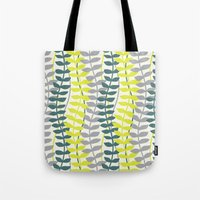 Seagrass Pattern - Teal … Tote Bag