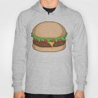 Cheeseburger Pixel Hoody