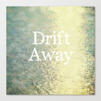Drift Away  Canvas Print
