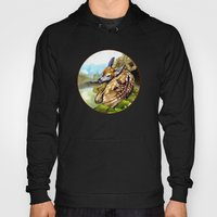 Fawn Parked In The Trees Hoody