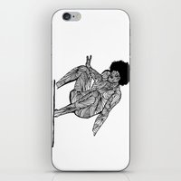 70s surfer iPhone & iPod Skin
