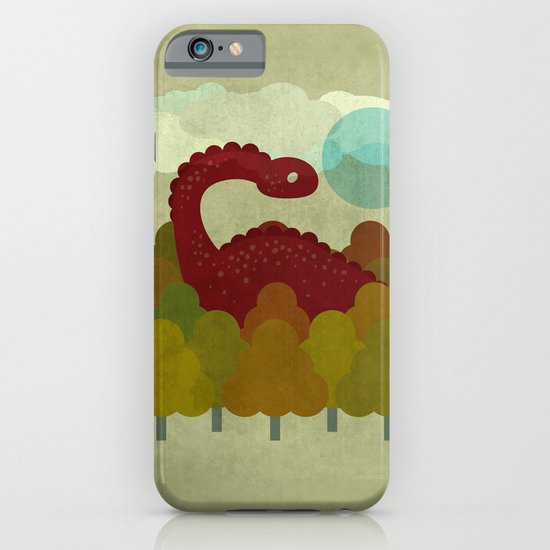 RED DINO iPhone & iPod Case