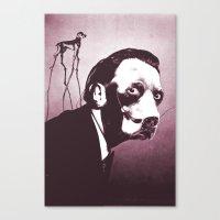 SalvaDog Dalí Canvas Print