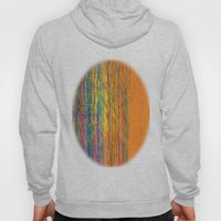 orange forest Hoody